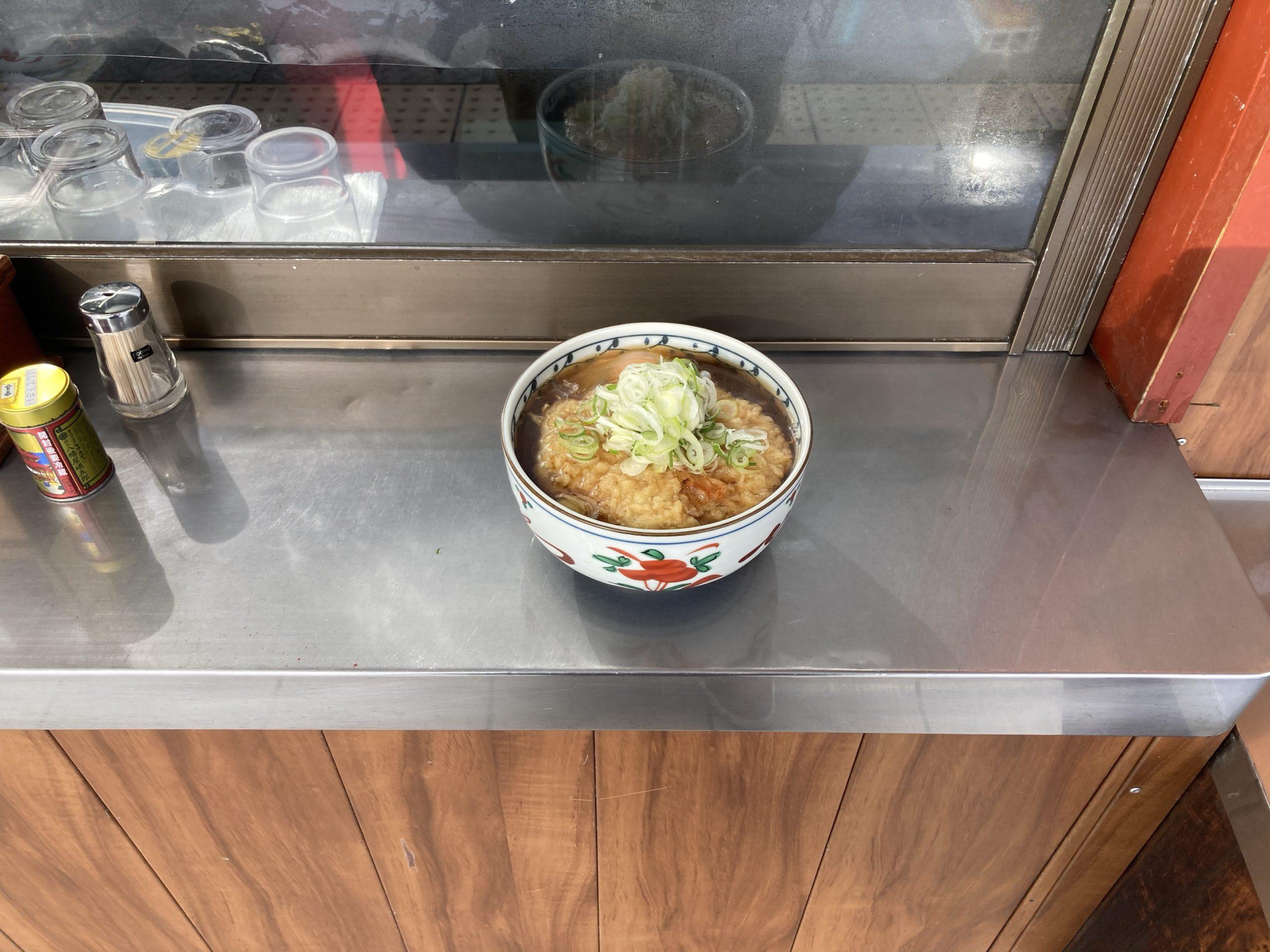 信州蕎麦処しなのの天玉そば